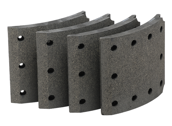 Brake Shoe Lining For Commercial Vehicles